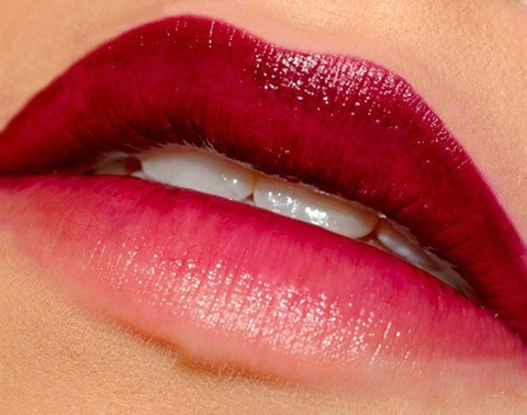 ombre lips ?
