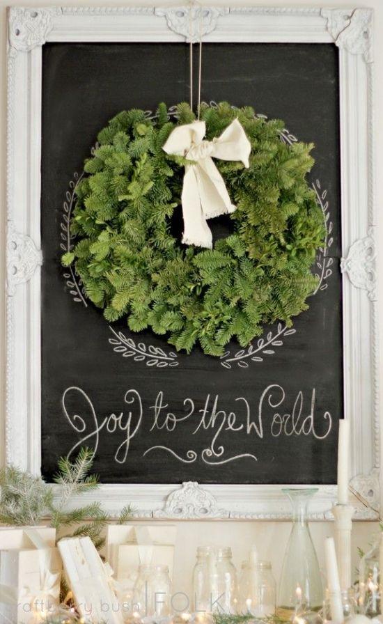 {Decor} Christmas mantel by jacquelyn