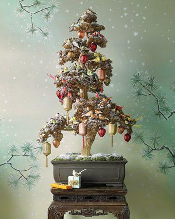 Martha Steward Asian Inspired Christmas Tree