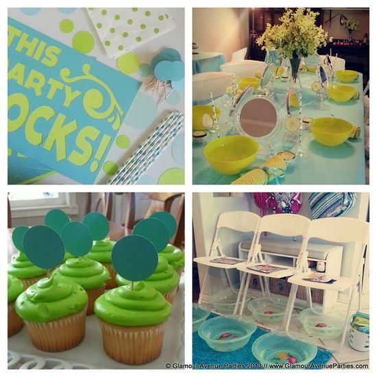 Glamour Avenue Parties Spa Party Ideas // www.GlamourAvenue...