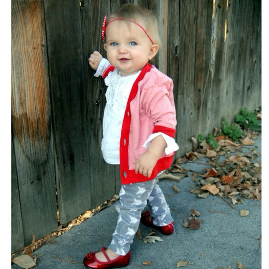 Baby leggings Baby cardigan Baby outfit fall