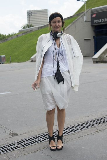 Street Style at Mens Fashion Week