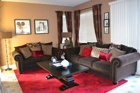 Hollywood Glam family room.. Home Decor Before and After