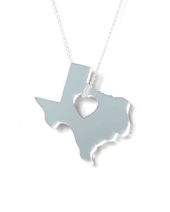 Texas Mirrored Necklace