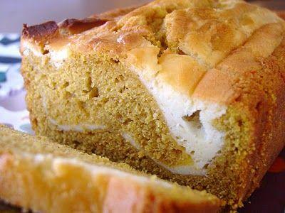 pumpkin/cream cheese bread