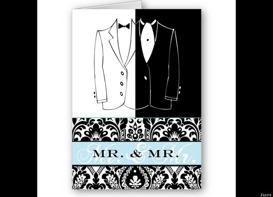 Gay Wedding Invites: The Cutest Same-Sex Invites