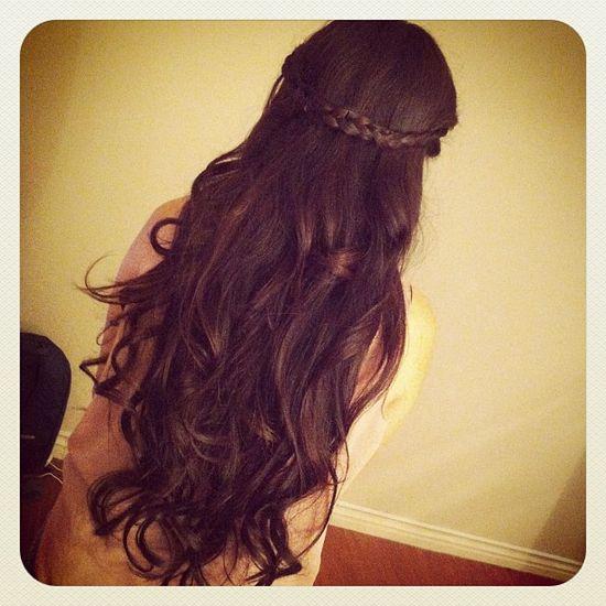I love curls
