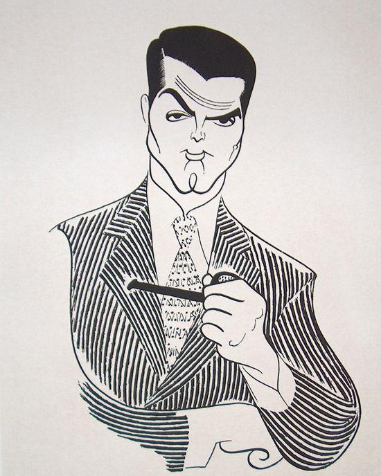 Cary Grant ~ Hirschfeld