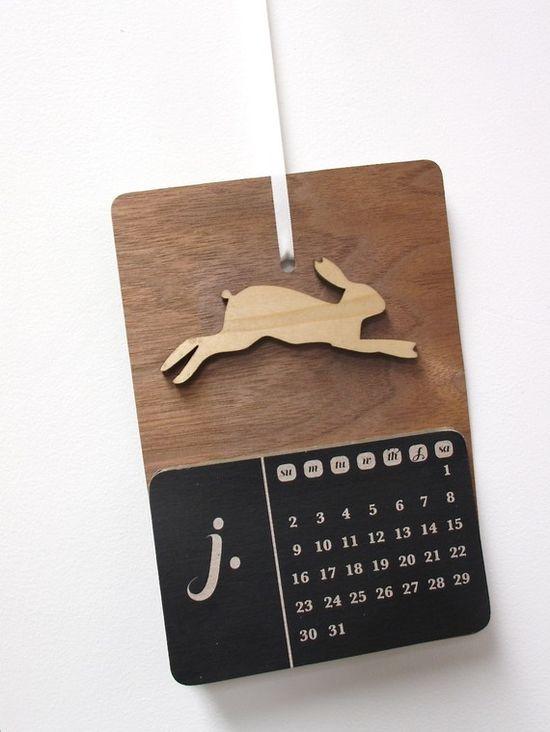 2011 Bunny Calendar by smeurer8