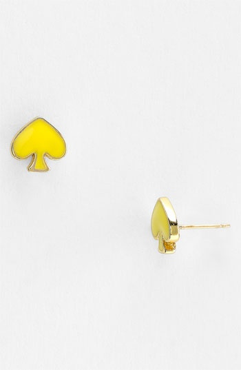kate spade new york 'spade to spade' mini stud earrings available at #Nordstrom
