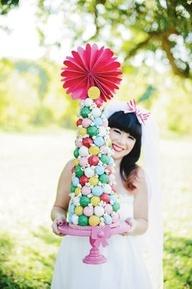 Whimsy Carnival #Wedding Cake Topper