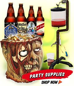 Halloween Decorations, Accessories, Party Stuff & Supplies