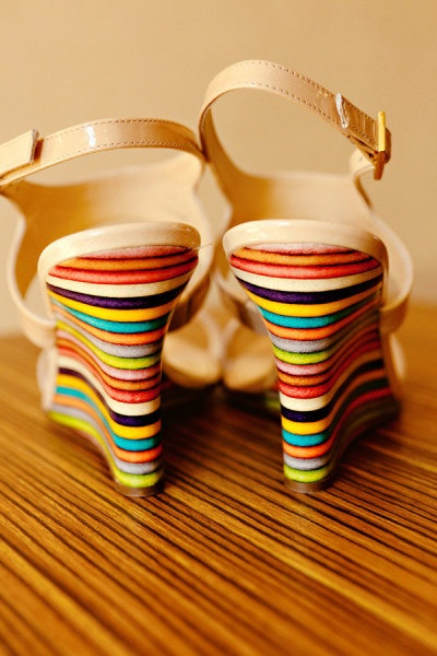 colorful shoes!!