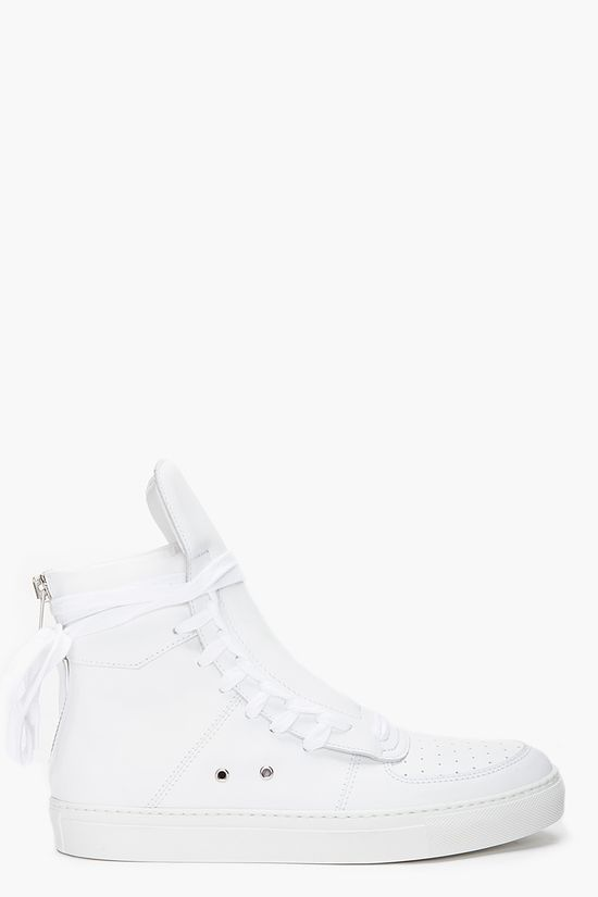 KRISVANASSCHE White Leather Sneakers