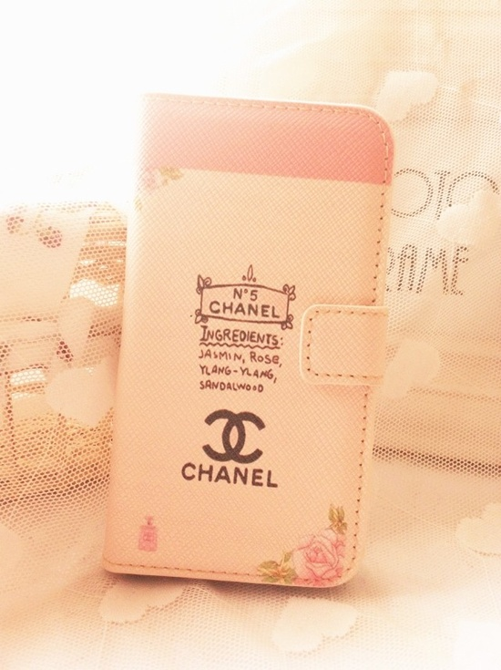 Cute Pink PU Leather Case for iPhone 4 case