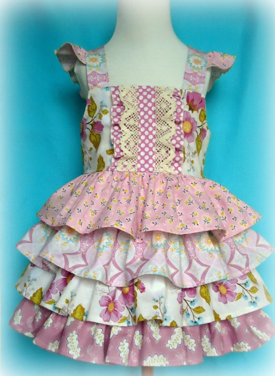 Ruffle Me Pretty Dress Tiered Ruffle