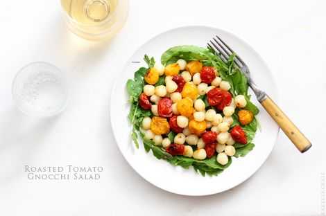 Roasted Tomato Gnocchi Salad from Bakers Royale