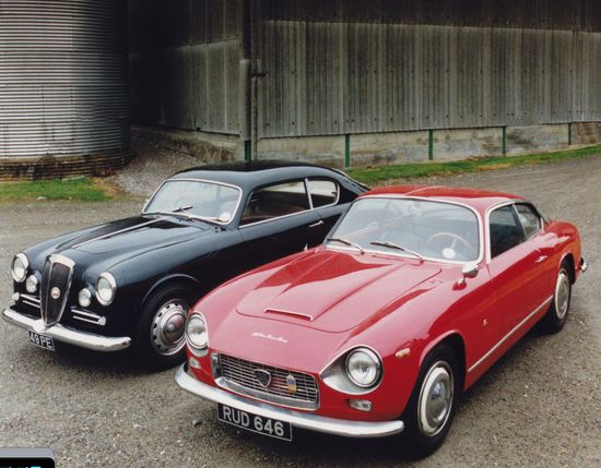 Lancia Aurelia B20 (5th series) and Flaminia Supersport Zagato