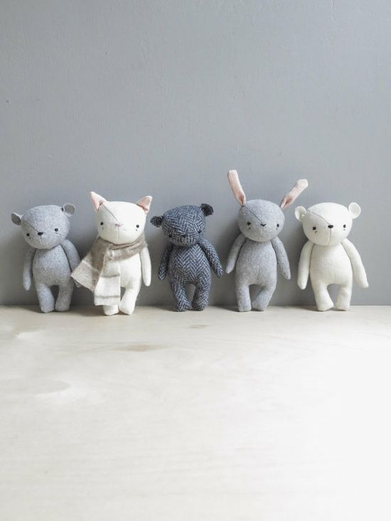 The Sweetest Stuffed Animals for Babies. Ever.