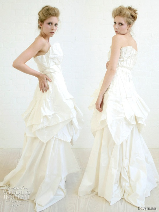 Blushless Wedding Dresses 2011 Collection