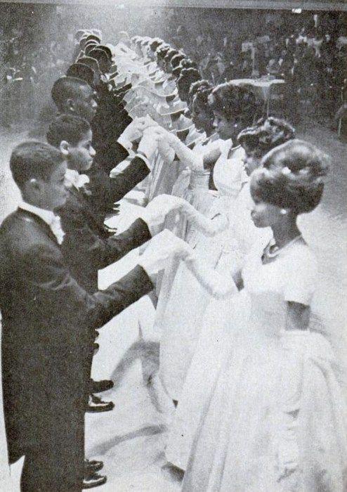 Bal des Débutantes à Harlem, New York