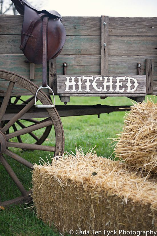 Country Wedding Sign Hitched Sign Recycled Wood by TRUECONNECTION, $45.00