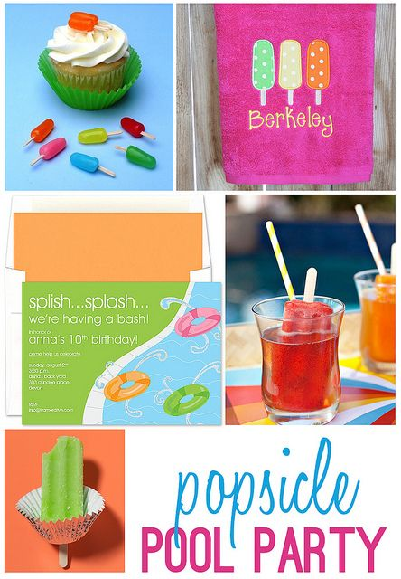 Popsicle Pool Party