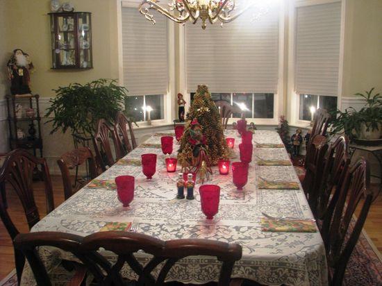 Christmas Dining Room Design