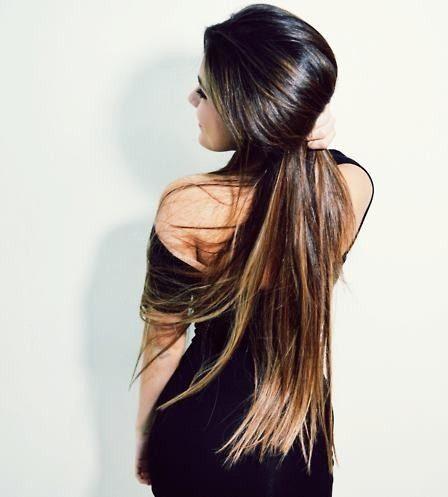 I want long hair!