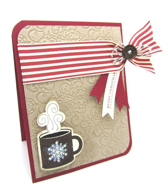 "This card was made using the Stampin' Up! ""NEW"" Scentsational Season Stamp set and the matching framelits dies."
