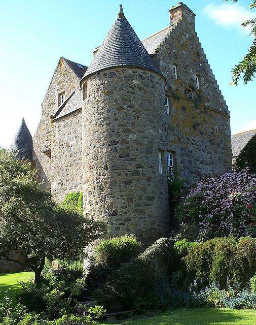 Barra castle, Scotland