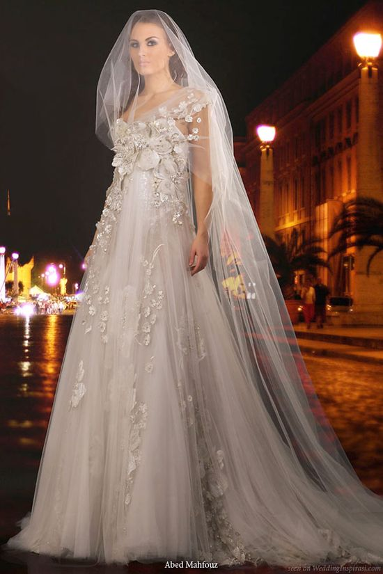 Abed Mahfouz Wedding Gown Collections