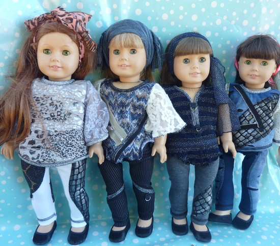 American Girl Doll Clothes The Olivia 2Toned by TheTrendyDoll