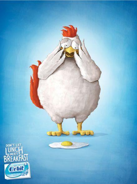 Funny Advertising Ad :) Chicken