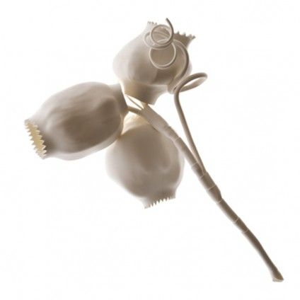 Susanne Klemm, Nuts, brooch, plastic, silver