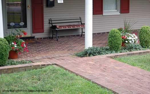 brick porch #floor design #floor decorating #floor interior design #floor decorating before and after