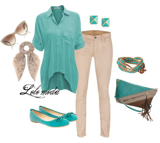 Love the color combo....this is my idea of an awesome and practical work outfit!!!