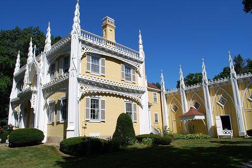 """Wedding Cake House"" -  Kennebunk, Maine"