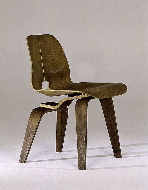Eames lounge chair prototype, 1945