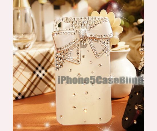 iphone 5c case, iphone 5s case, cute iphone 5s case, white iphone 5c case, cute iphone 5c case, iphone 5c case bow, iphone 5c bling case