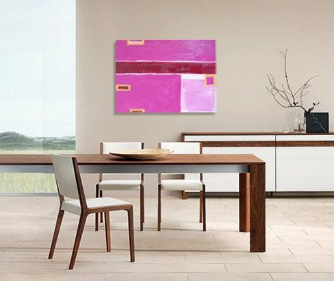 SALE  original abstract painting  gallery fine by linneaheideart, $100.00