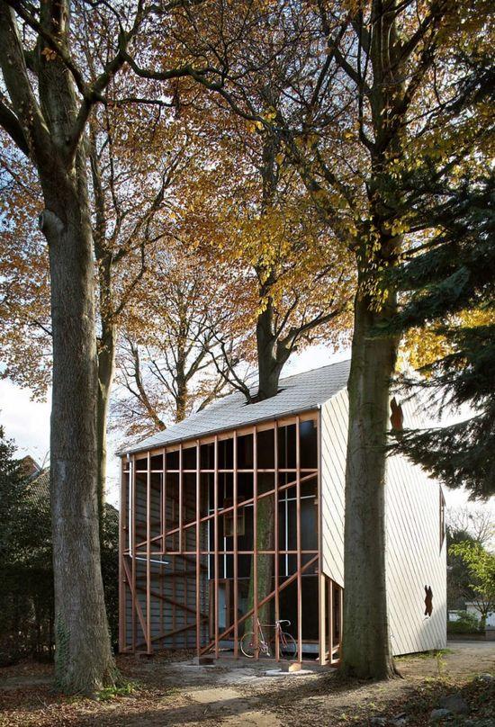 Tree house finished: architecten de vylder vinck taillieu