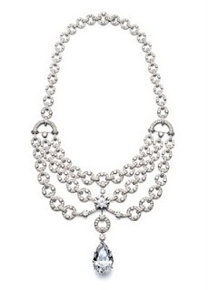 Diamond necklace by Cartier
