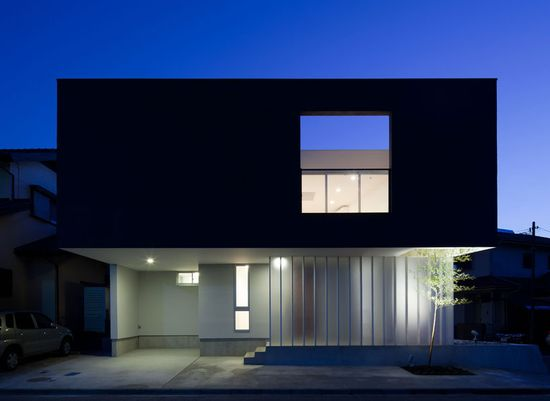 ah the modern Japanese Architecture - becoming masters in principal. This one here is about outside/inside but not in a Jamie Durie kind of way.
