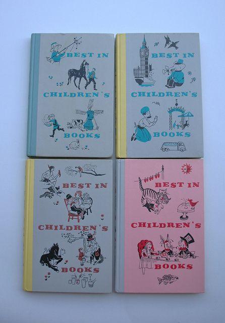 vintage baby books