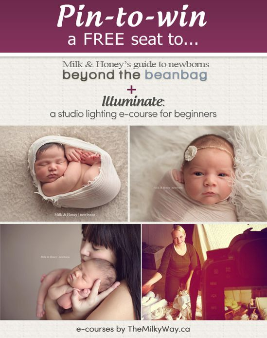 I want this!!  Newborn posing class + studio lighting class by themilkyway.ca
