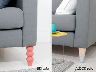 Pretty Pegs... New way to dress up your boring furniture legs.