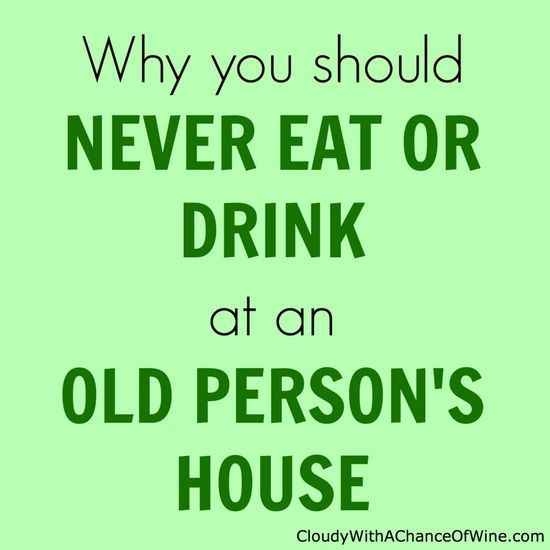 A hilarious story about my grandparents, pee, and why I stopped eating and drinking at their house. #humor #funny