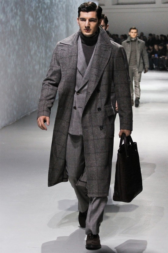 Corneliani - Men Fashion Fall Winter 2012-13 - Shows - Vogue.it #TakeMeToNYC