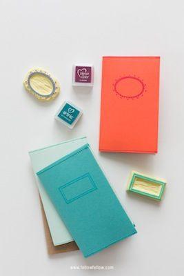 Handmade Journal Covers DIY